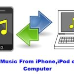 Cómo transferir música del iPhone, iPod o iPad al PC