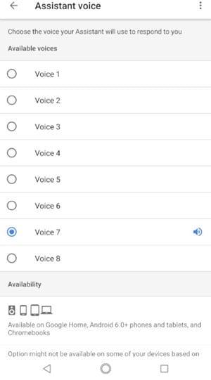 Cómo cambiar la voz de tu asistente de Google