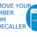 Cómo quitar su número de Truecaller