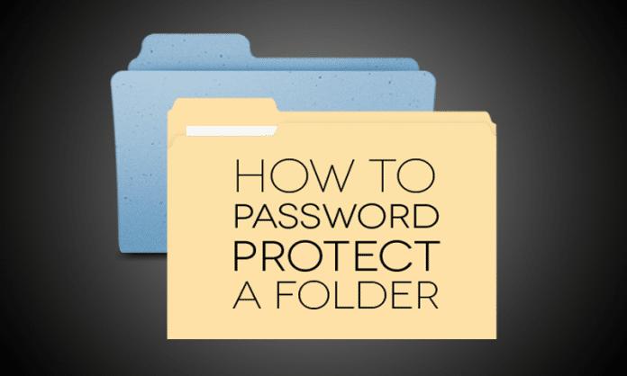 Cómo crear una carpeta protegida por contraseña sin ningún tipo de software