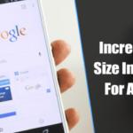 Cómo aumentar el tamaño del texto en Chrome para Android