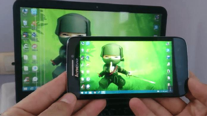 Cómo reflejar la pantalla de tu móvil Android a Window PC