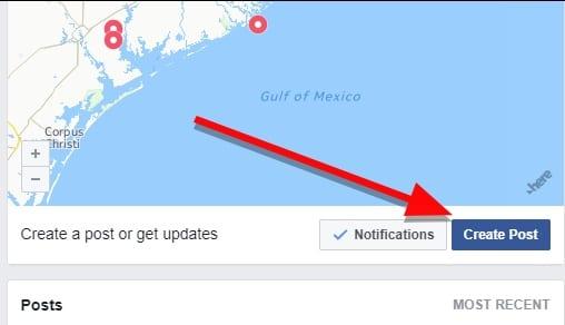 Cómo ofrecer y pedir la emergencia con Facebook