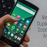 Cómo eliminar los iconos duplicados de la aplicación de la pantalla de inicio de Android