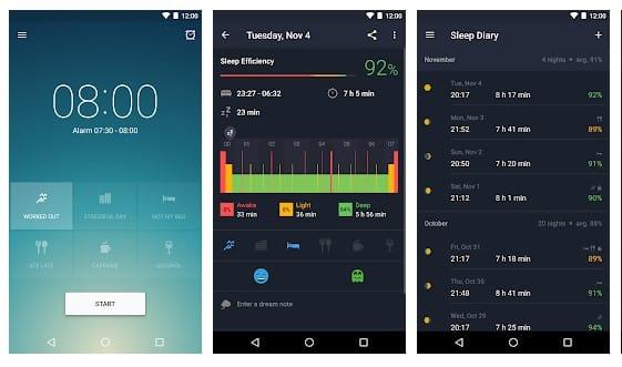 15 mejores aplicaciones para que Android venza el insomnio