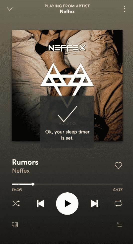 Cómo apagar automáticamente Spotify después de un tiempo