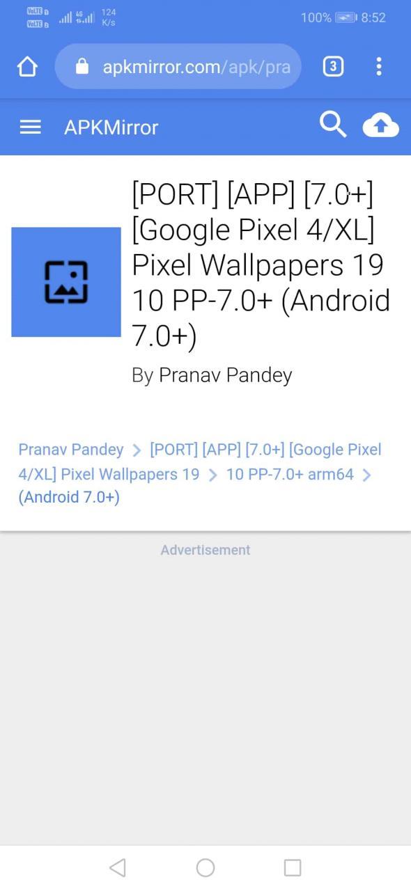 Cómo conseguir fondos de pantalla de Pixel 4 en vivo en cualquier Android