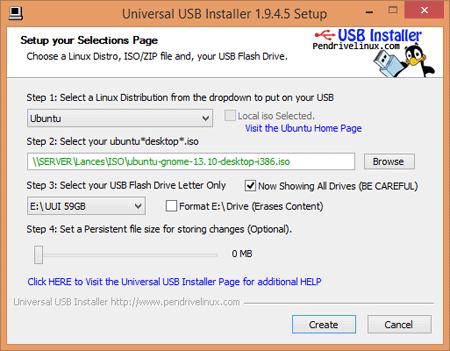 Cómo crear un USB/pendrive Linux de arranque