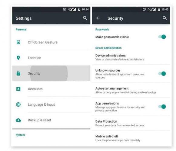 Cómo evitar la descarga de troyanos en dispositivos Android