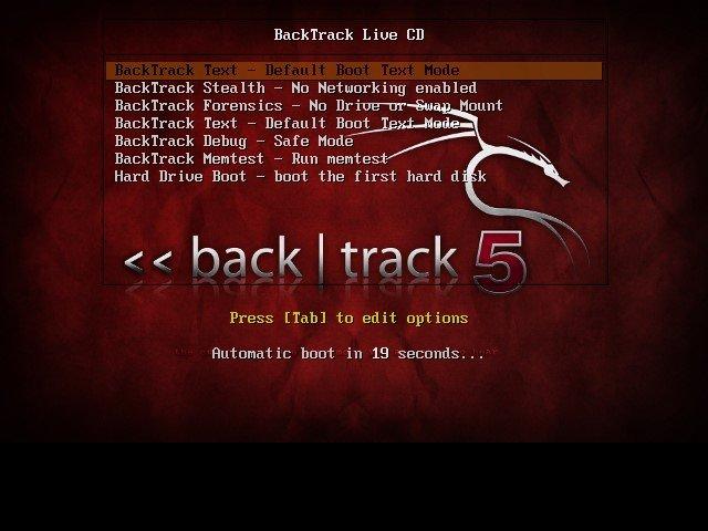 Cómo instalar y ejecutar Backtrack en Windows