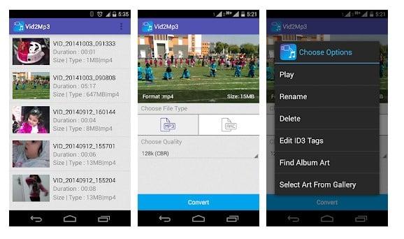 Las 5 mejores aplicaciones de conversión de video a MP3 para Android 2020