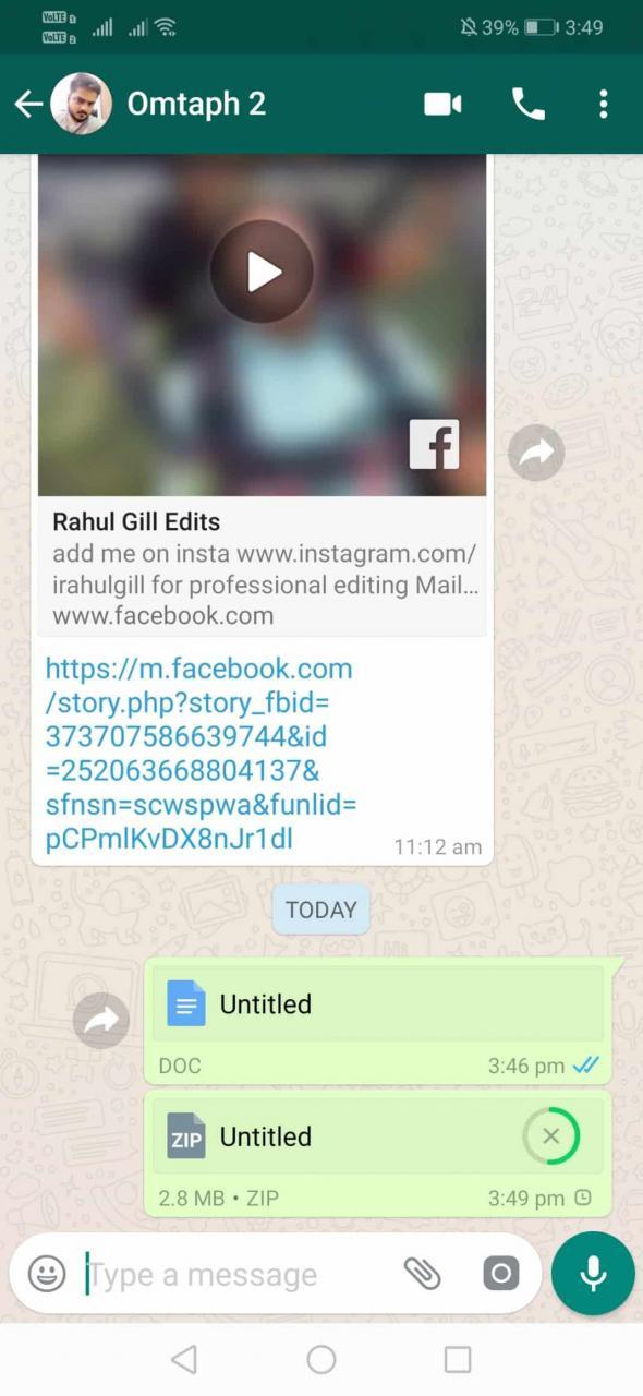 Cómo enviar imágenes sin compresión en WhatsApp