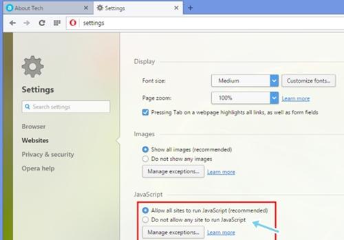 Cómo habilitar el clic derecho en los sitios web que lo desactivan