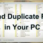 Cómo encontrar y eliminar archivos duplicados en la computadora
