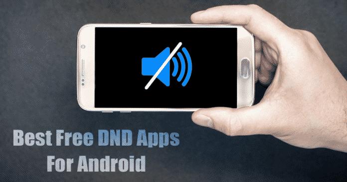 5 Mejores no molestar a las aplicaciones para Android 2020