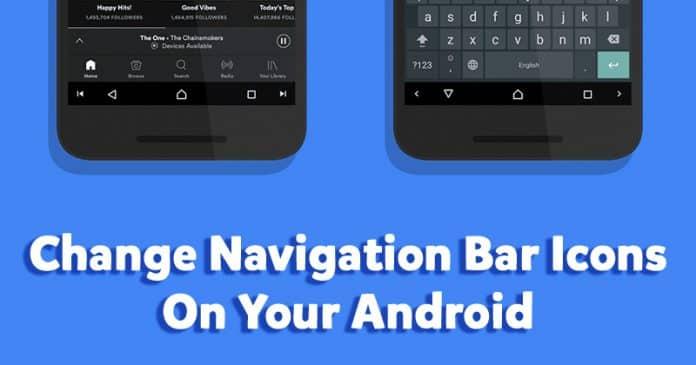 Cómo cambiar los iconos de la barra de navegación en Android