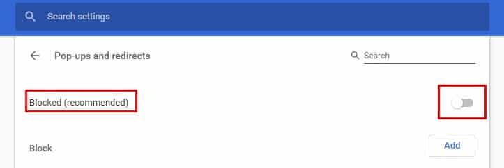 Cómo activar el bloqueador de pop-ups de Google Chrome