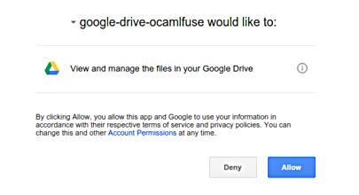 Cómo montar tu unidad de Google en Ubuntu