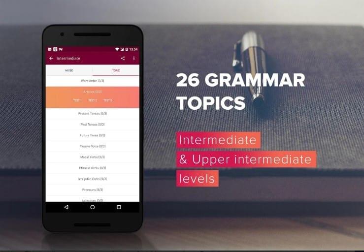 15 mejores aplicaciones de gramática inglesa para Android 2020