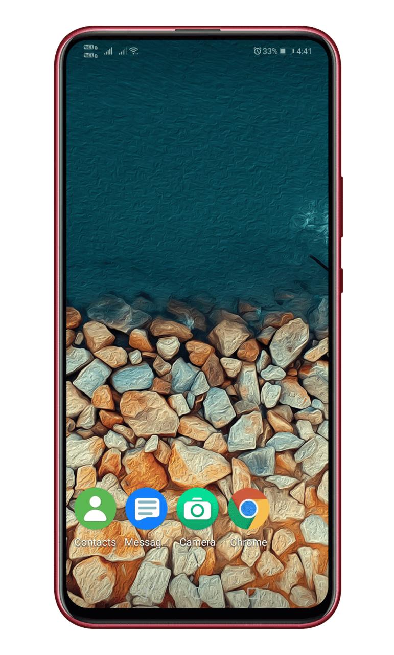 Cómo obtener una búsqueda en la pantalla de inicio similar a la de iOS en Android