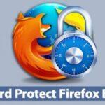 Cómo proteger el navegador Mozilla Firefox con una contraseña