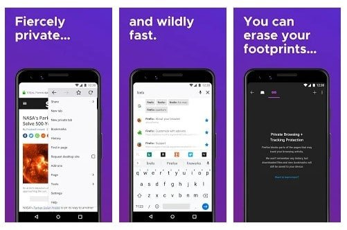 Los 5 mejores navegadores Android con el modo oscuro