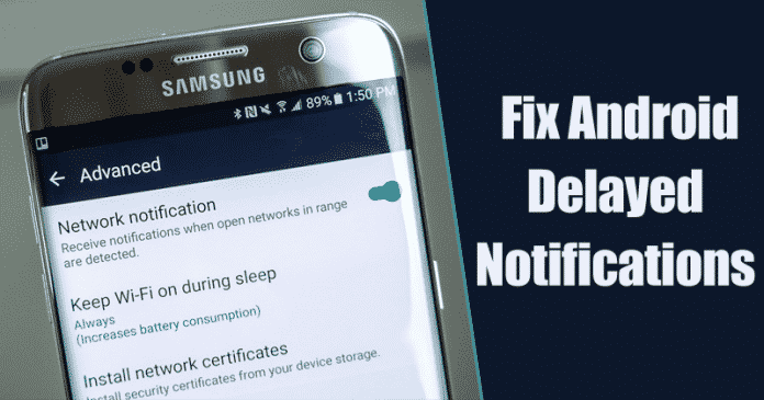 Cómo arreglar las notificaciones retrasadas de Android