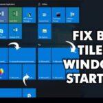 Cómo reparar azulejos en blanco en el menú Inicio de Windows 10