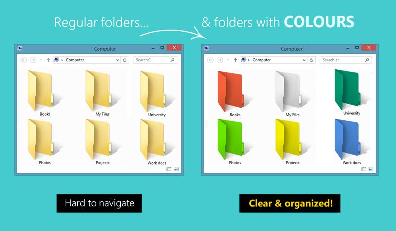 Cómo cambiar el color de una carpeta en Windows