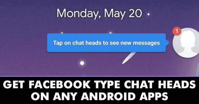 Cómo obtener cabezas de chat tipo Facebook en aplicaciones Android