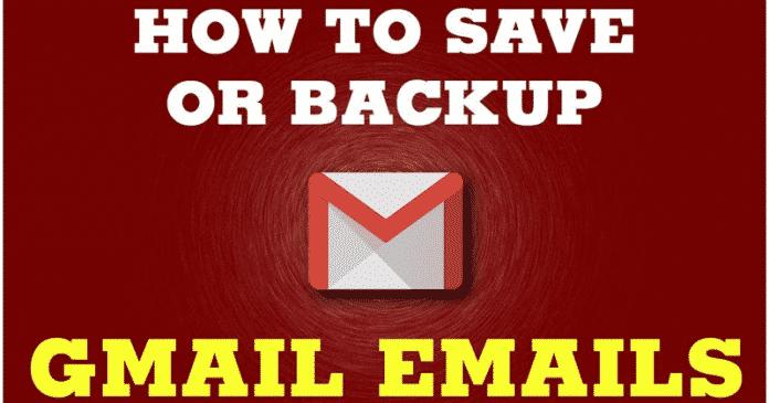 Cómo hacer una copia de seguridad de todos tus correos electrónicos de Gmail en el disco duro de tu ordenador