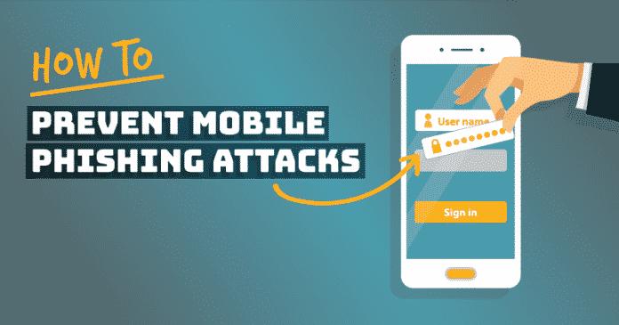 Cómo prevenir los ataques de phishing de teléfonos celulares