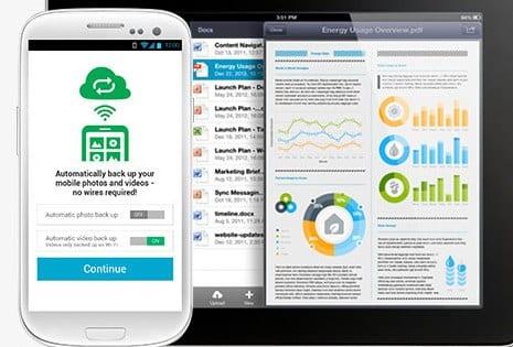 Cómo enviar archivos grandes desde Android