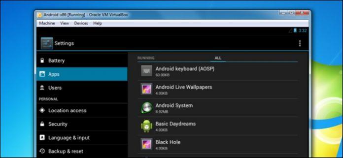 Cómo instalar Android en el PC usando VirtualBox