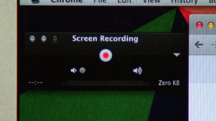 Cómo grabar la pantalla con audio en el MAC