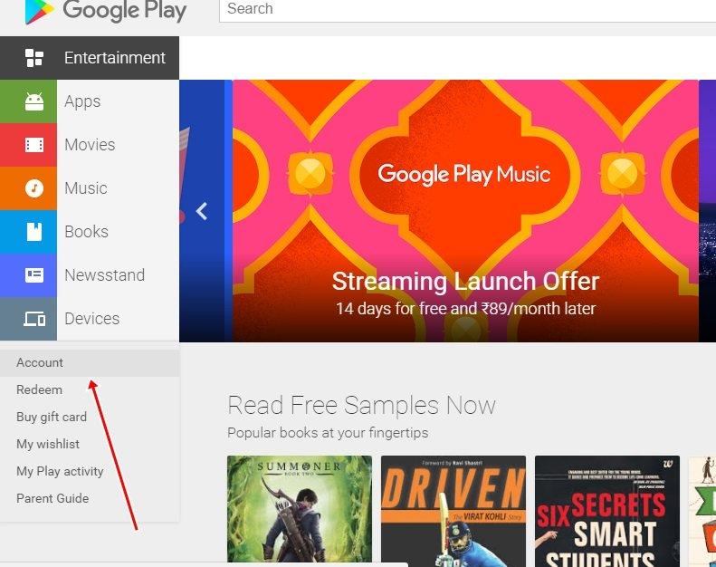 Cómo compartir aplicaciones, música o juegos comprados con la familia en Android