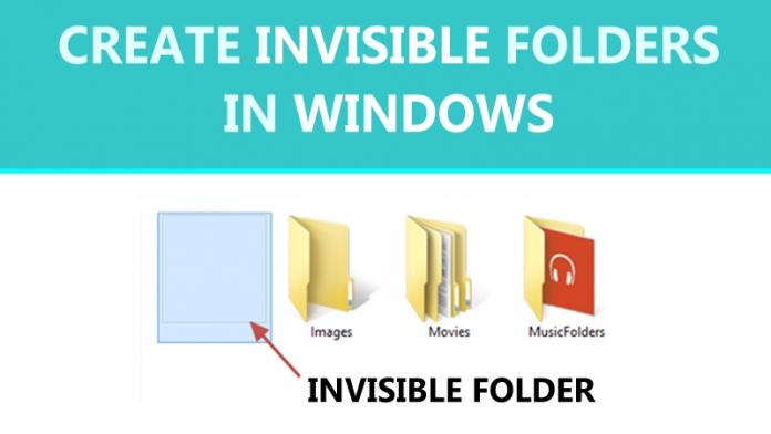 Cómo crear carpetas invisibles en Windows (3 métodos)
