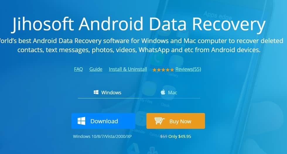 Las mejores herramientas de recuperación de datos de Android para recuperar archivos eliminados