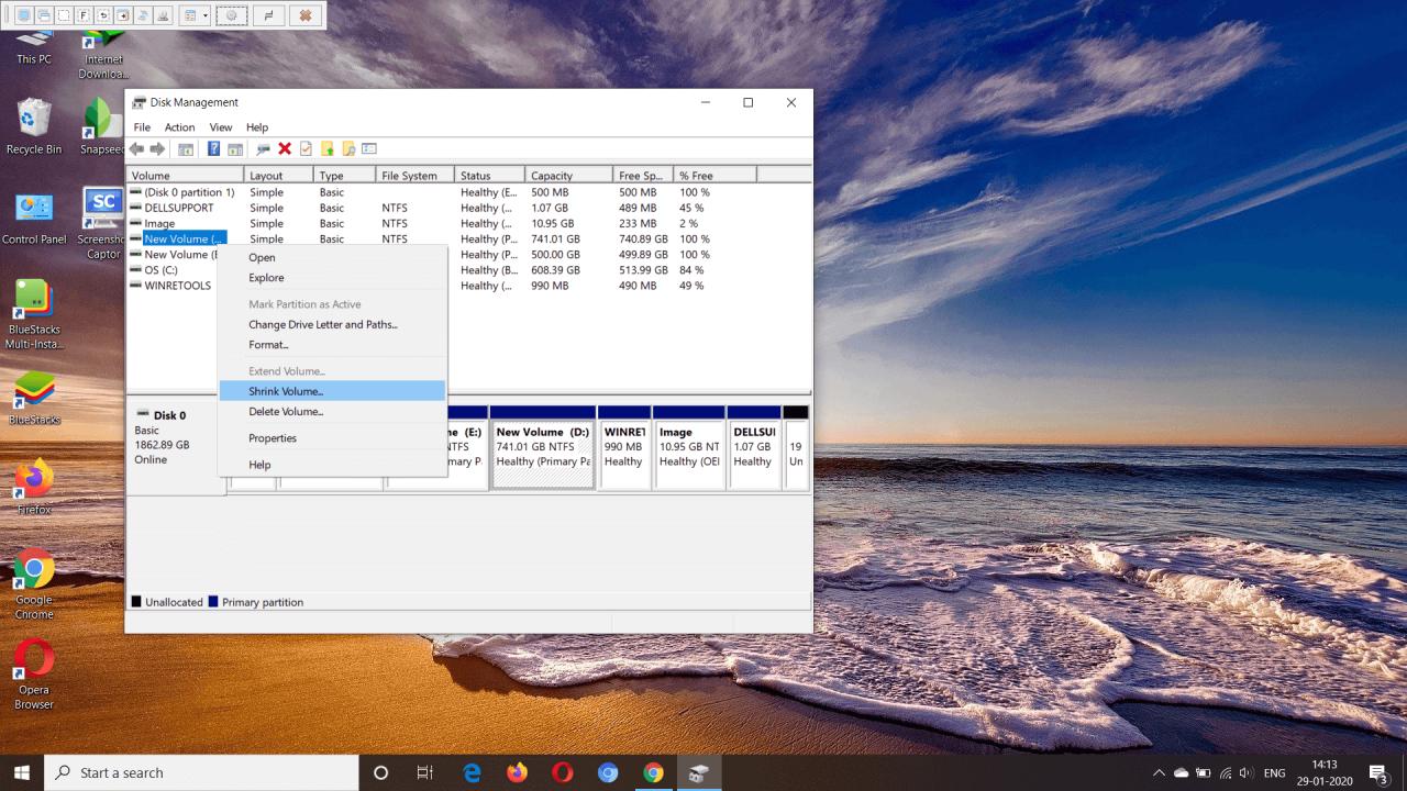 Cómo hacer una partición en Windows 10 sin ningún software