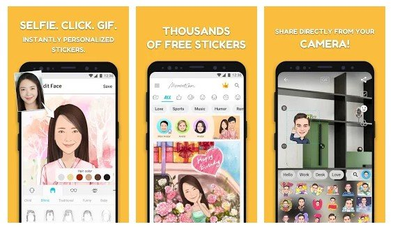10 mejores aplicaciones de creación de avatares de dibujos animados para Android