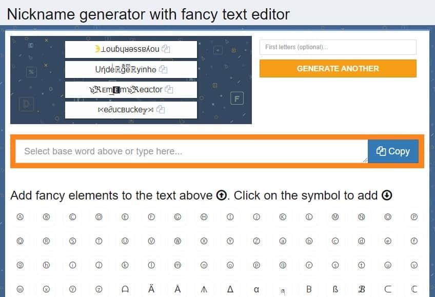 Los mejores generadores de texto de fantasía - Fuentes geniales y letras elegantes