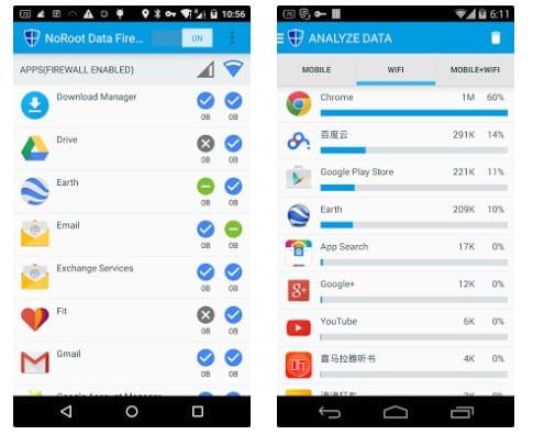 15 mejores aplicaciones de firewall para Android