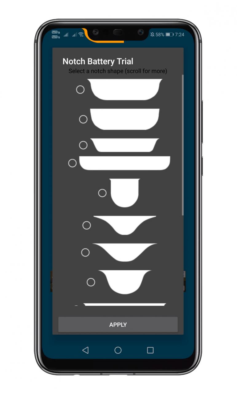 Cómo convertir una muesca en un indicador de batería
