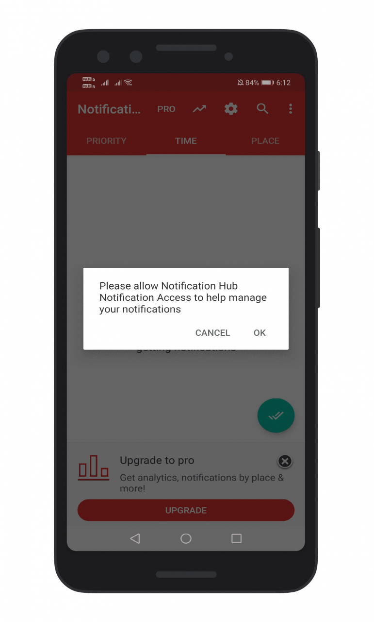 Cómo mantener la bandeja de notificación de Android limpia y despejada con el centro