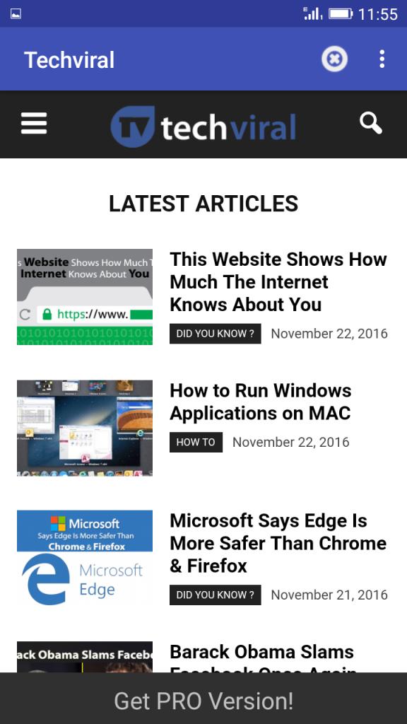Cómo acceder a sitios web sin conexión a Internet en Android