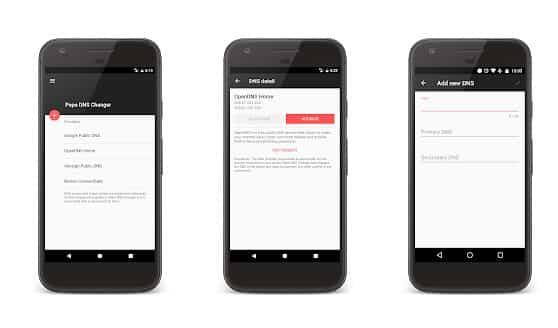 Las 10 mejores aplicaciones de cambio de DNS para Android 2020