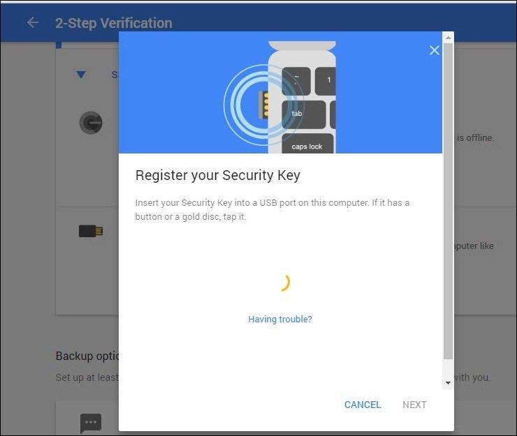 Cómo proteger tus cuentas de Google con una llave de seguridad USB