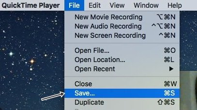 Cómo grabar el vídeo de la cámara web de tu Mac