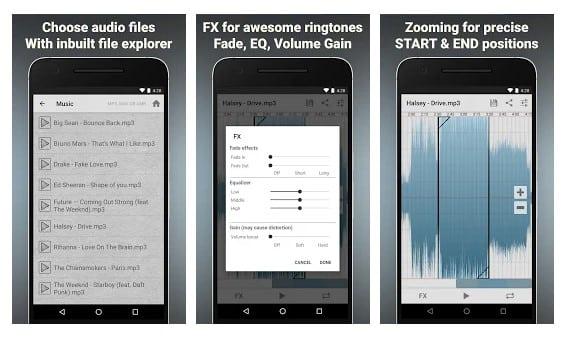 Las 10 mejores aplicaciones de corte de MP3 para Android 2020