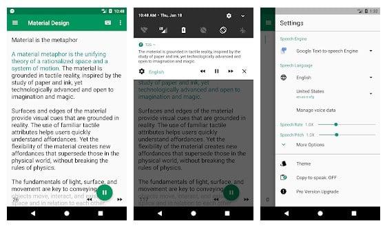 15 mejores aplicaciones de texto a voz para su smartphone Android